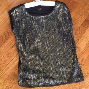 Ann Taylor loft sequined top